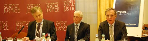 Martin Howe QC,  Ray Mallon and Jonathan Aitken discuss Criminal Justice at the CSJ